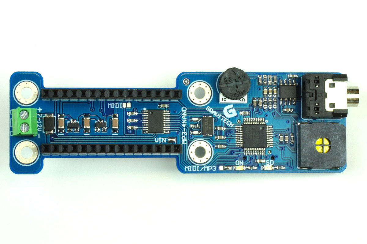 Mp3 Player Add On For Arduino Nano