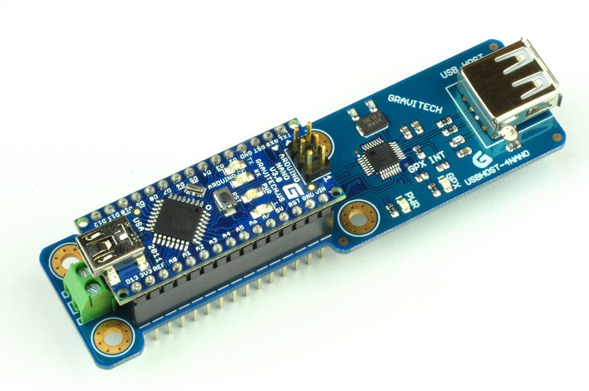 Usbhost add on for arduino nano
