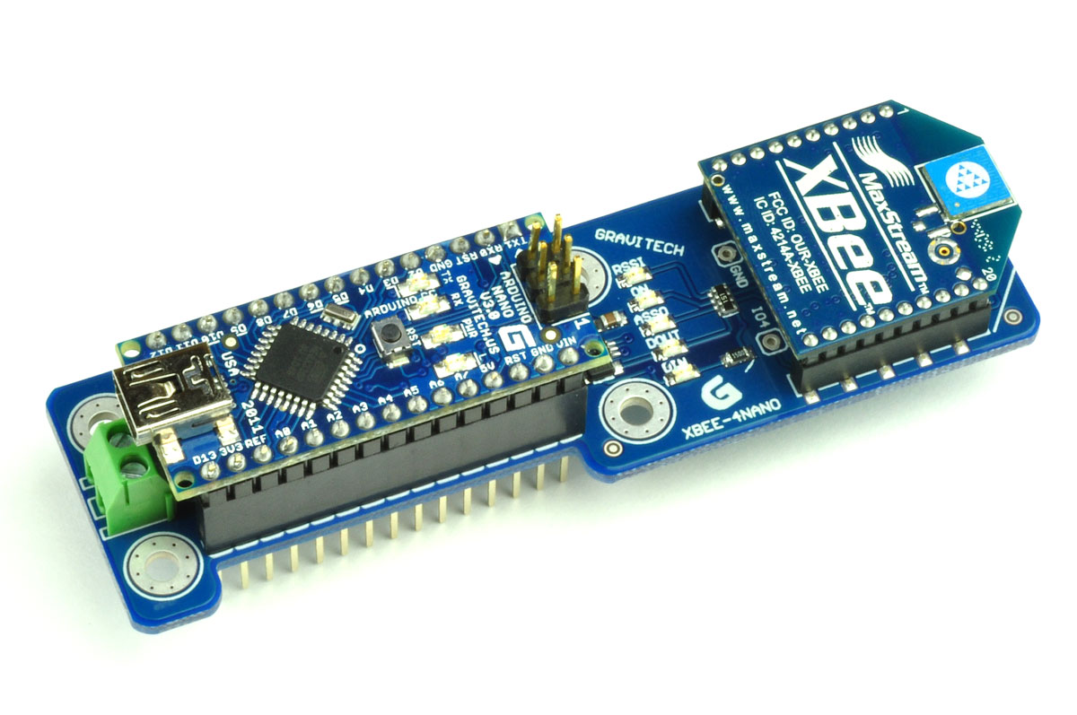 Xbee add on for arduino nano