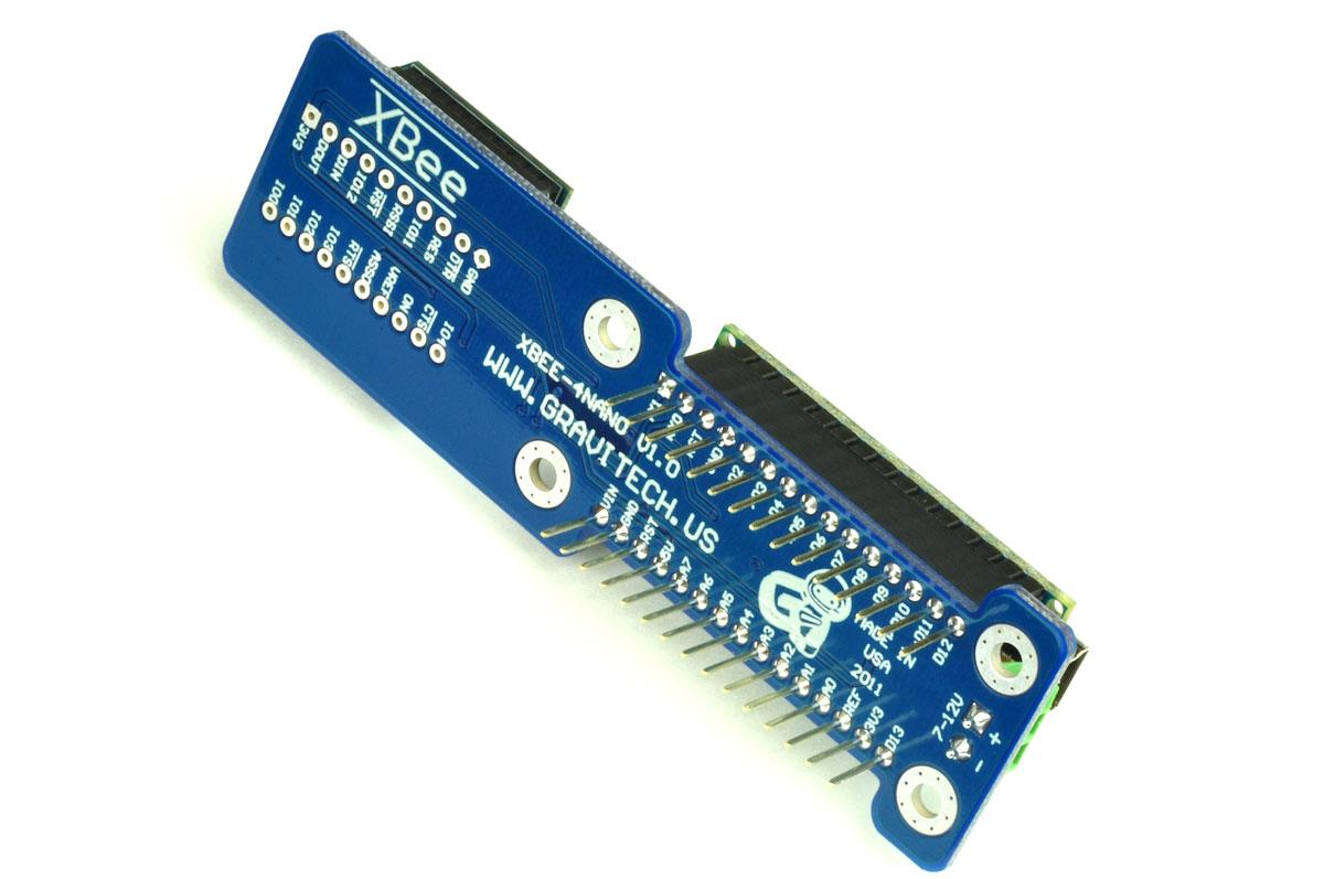 Xbee add on for arduino nano