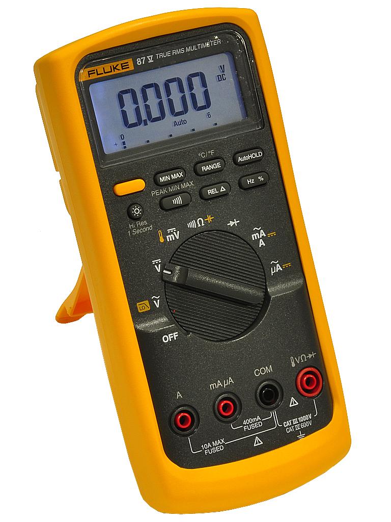 Fluke Multimeter 87 : Fluke v multimeter true rms temperature brand new ebay