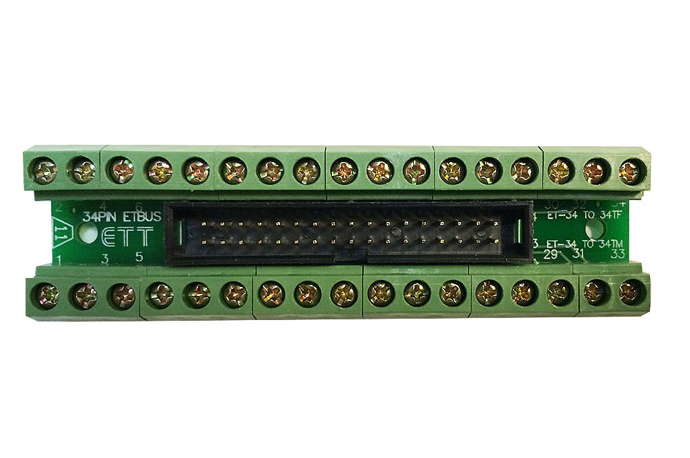 Ribbon Cable Breakout : Pin male header breakout board