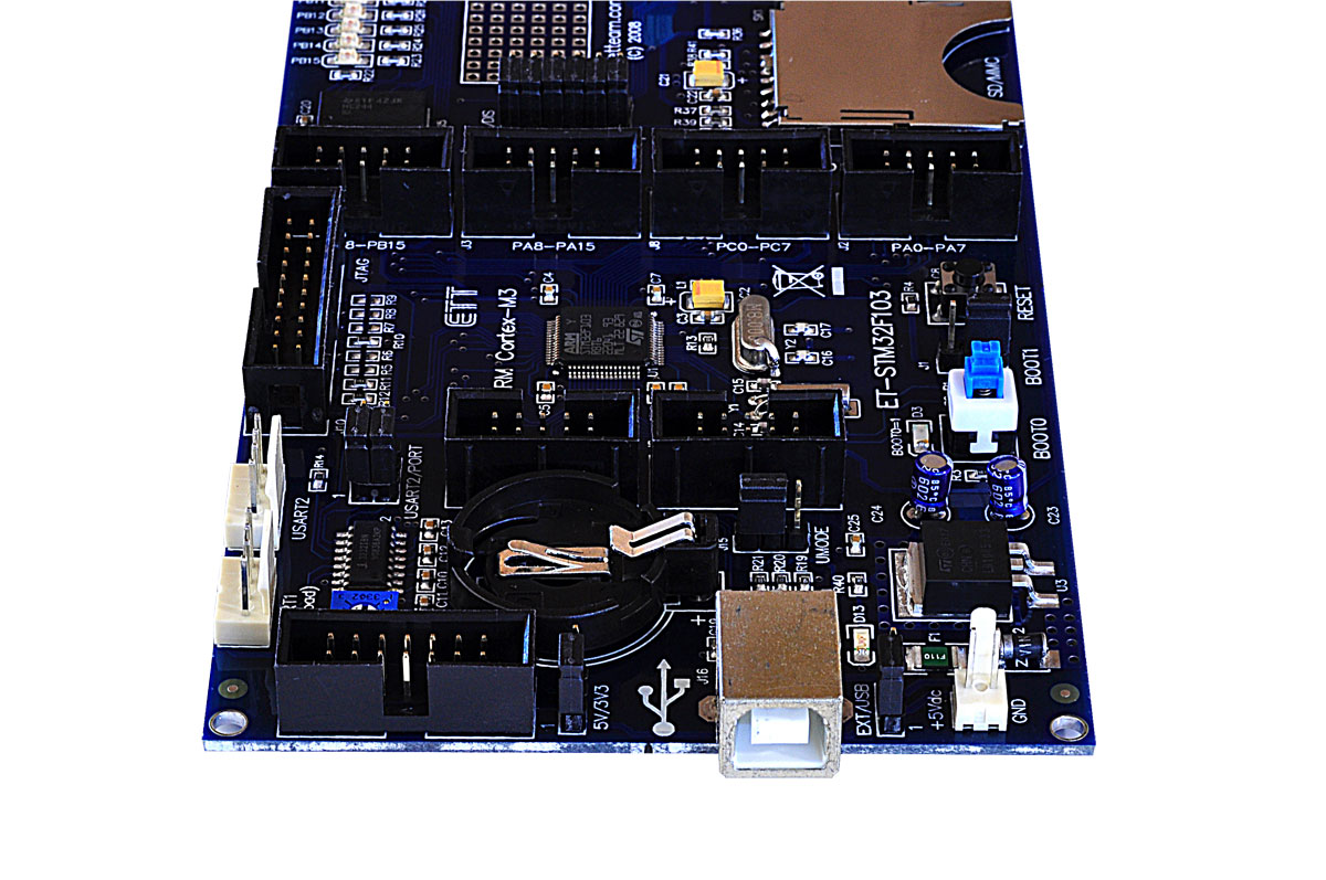 STM32F103 ARM Cortex M3 Development Board
