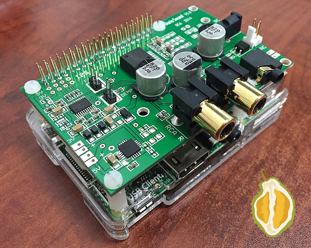 Durio Pro Raspberry Pi B And Naked Assembled Block Diagram