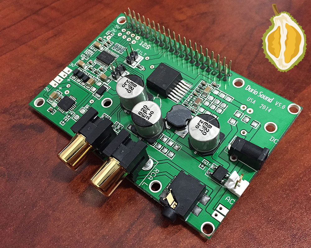 Durio Sound An Ultimate Quality For The Raspberry Pi Model B Block Diagram