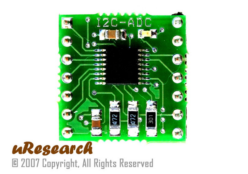 Arduino 12 bit adc i2c