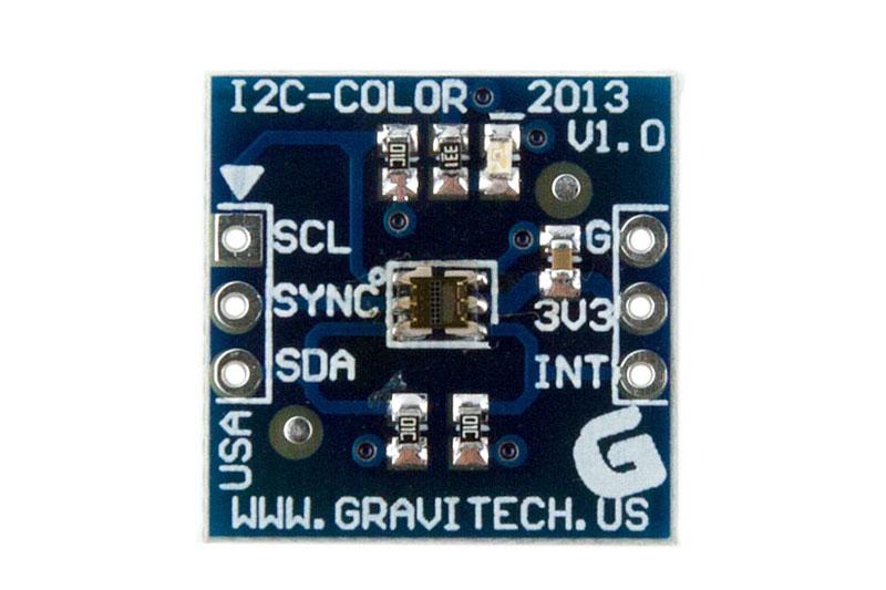 I2C 16-BIT Color level sensor RGBC