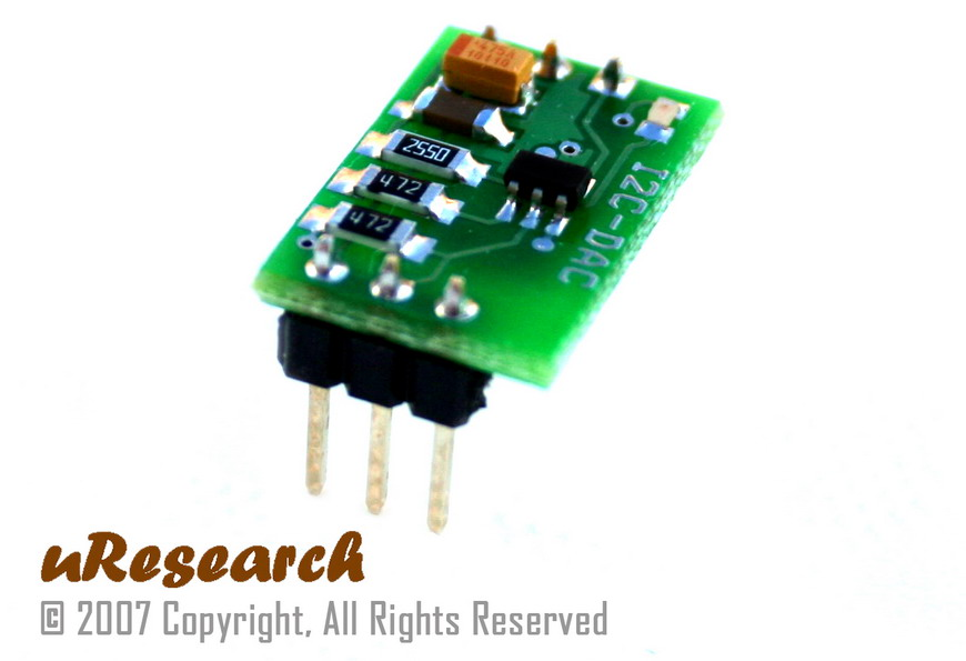 I2C 8-bit Digital-to-Analog Converter