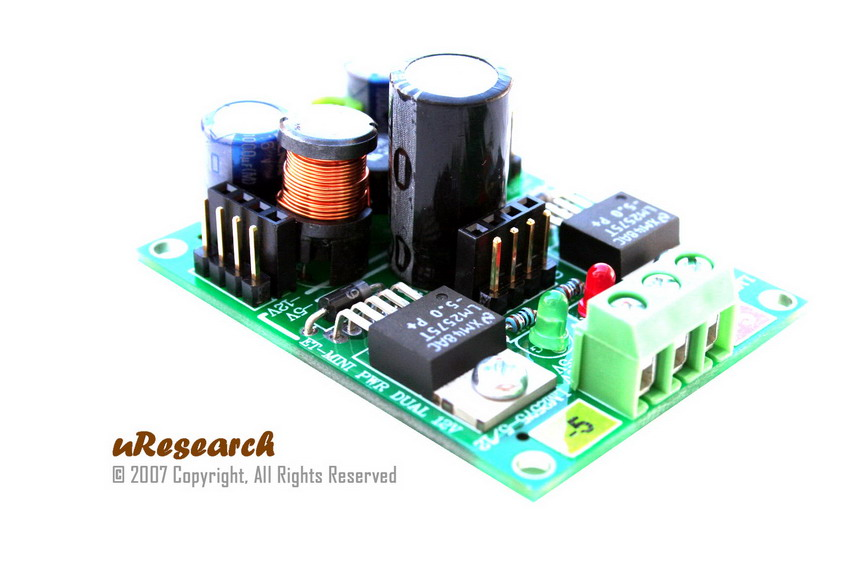 Mini Dual +/- 5V Switching Power Supply