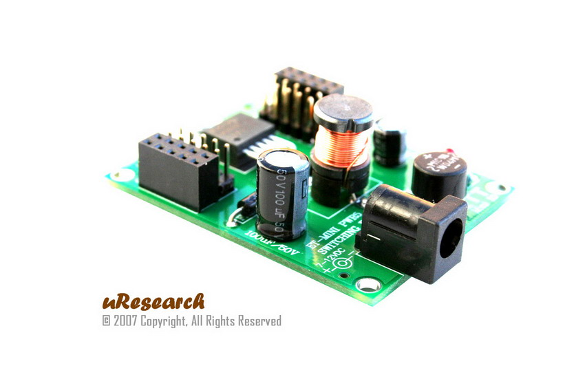 Mini +5V Switching Power Supply
