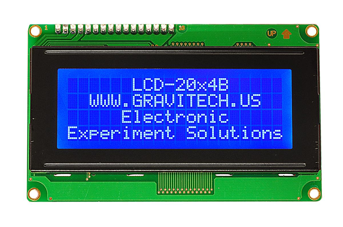 display lcd 20x4: