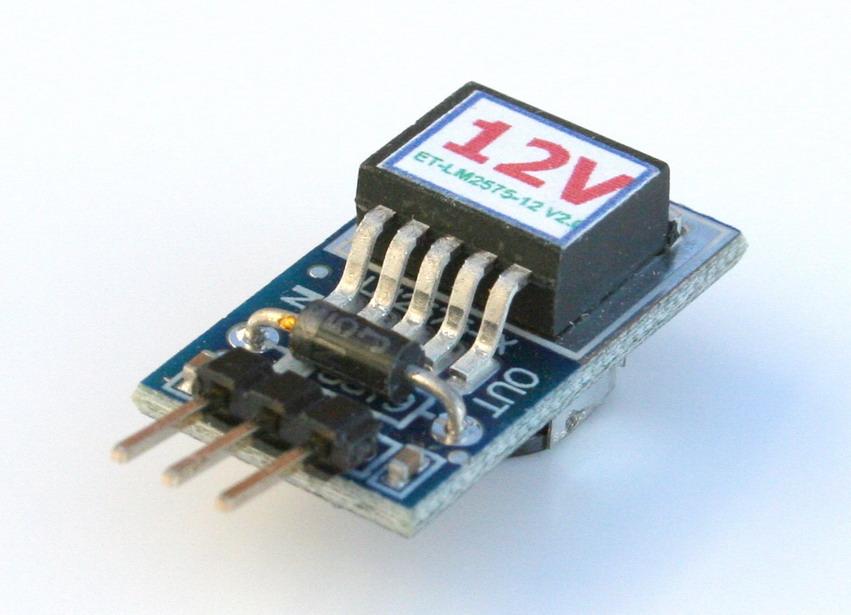 3 Terminal 12v 1a Switching Voltage Regulator