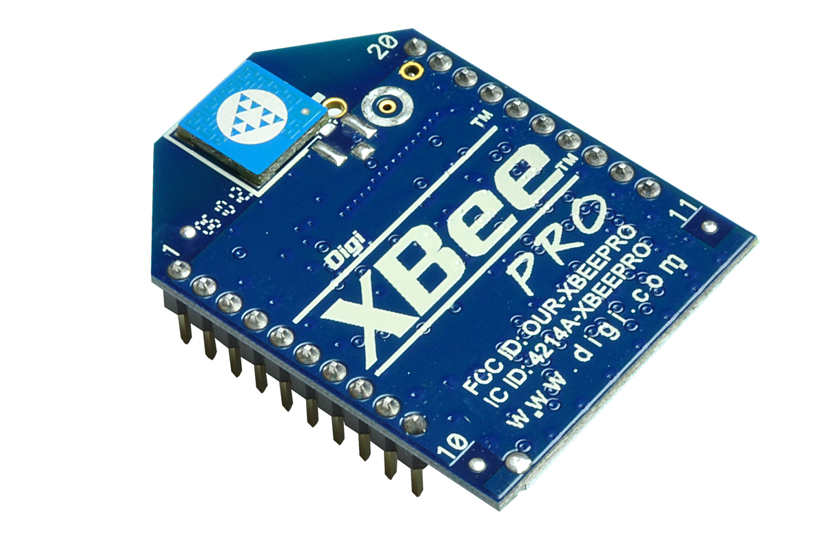 XBee PRO 802.15.4 (Series 1) 63mW Point-to-Multipoint RF Module with Chip Antenna